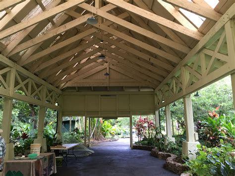 Hale Hoike at the Waimea Valley is a wedding venue options