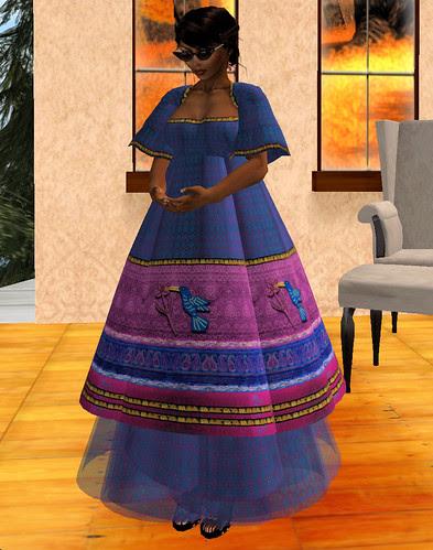 Chimney Hunt 41 Sari's TwiggTweet Dress