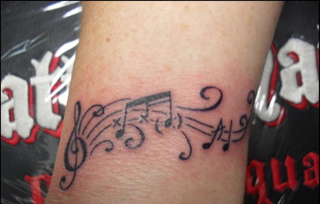 52 Music Tattoos On Wrist
