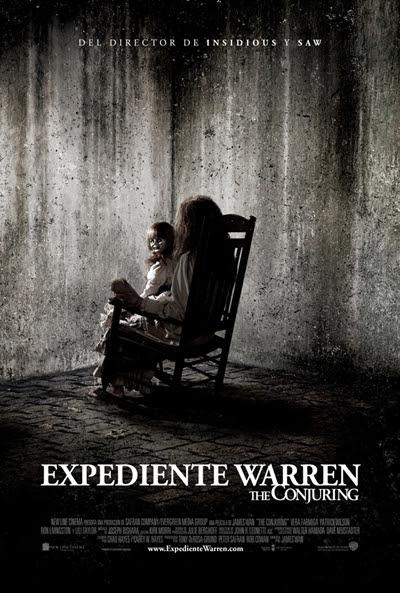 Cartel de Expediente Warren: The Conjuring (The Conjuring)