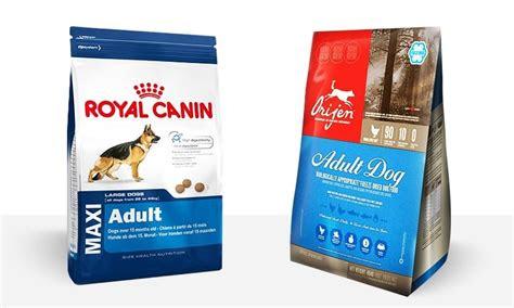 dog food review royal canin maxi adult  orijen adult