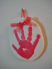 Olivia's Handprint
