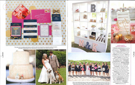 Feature Wedding Katey And Matt Kate Spade Inspired Beach Wedding