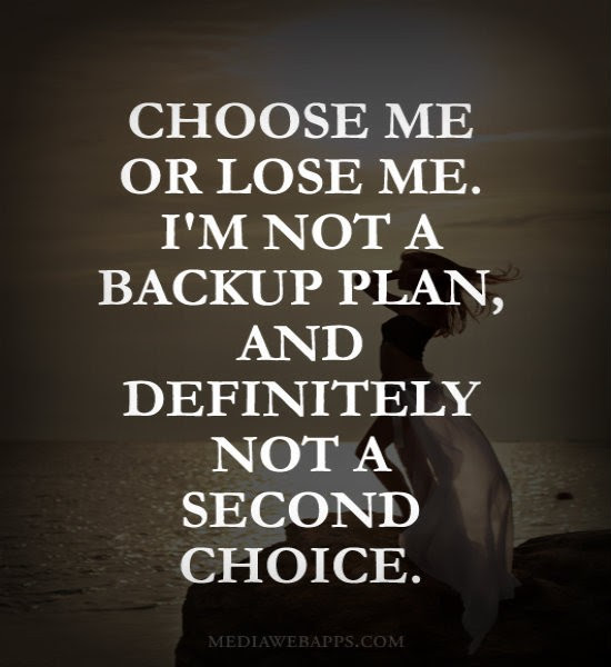 Second Choice Quotes Sayings Second Choice Picture Quotes