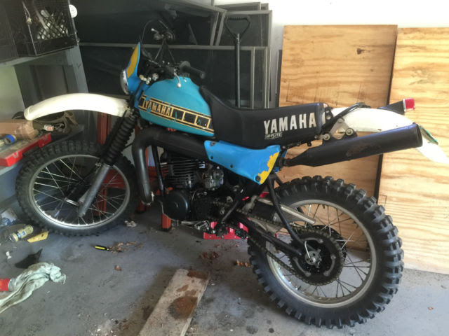 1980 Yamaha 2 Stroke IT425 IT490K IT 490 K 175 200 250 400 ...