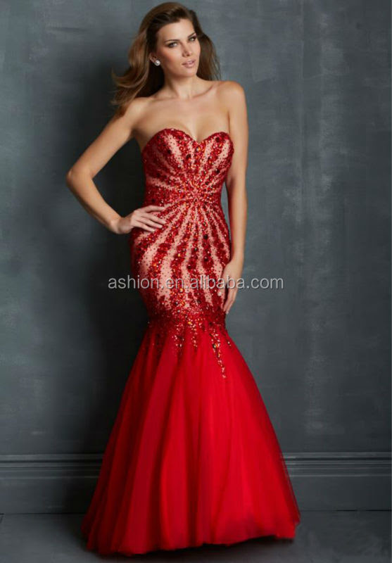 Red evening dress online malaysia