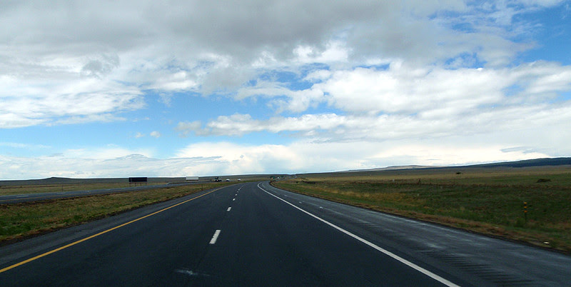The high plains of northeast New Mexico.