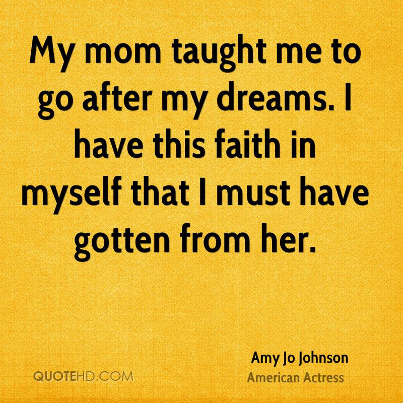 Amy Jo Johnson Mom Quotes Quotehd