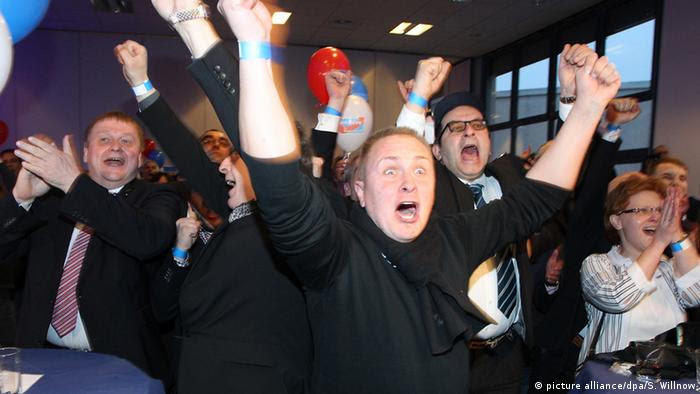 AfD supporters celebrate gains in Rhineland-Palatinate