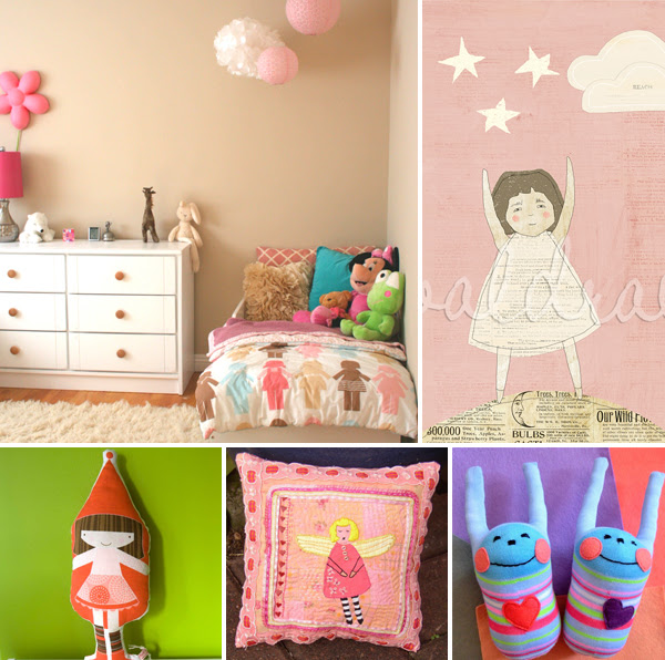 girls room decor | The Luulla Blog