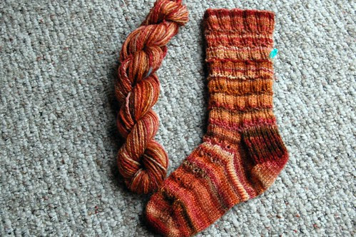 Ready for the second sock