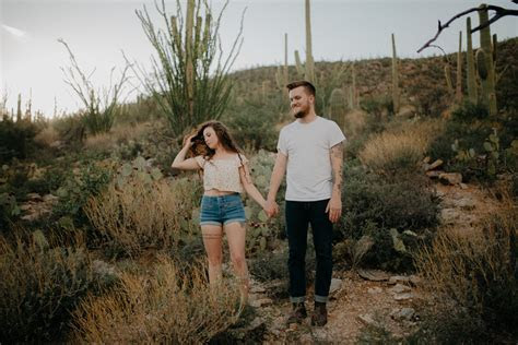 A Dreamy Desert Romance in Tucson, Arizona   Kellon and