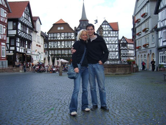 Astrid & me in Fritzlar (&copy 2007 by Jolle)