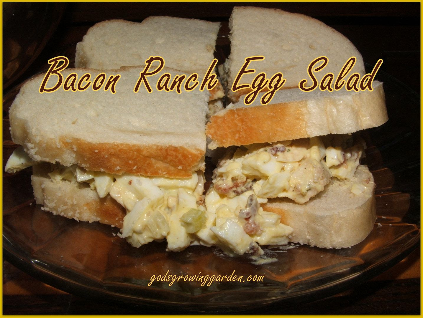 Bacon Ranch Egg Salad by Angie Ouellette-Tower for godsgrowinggarden.com photo 011_zps88345690.jpg