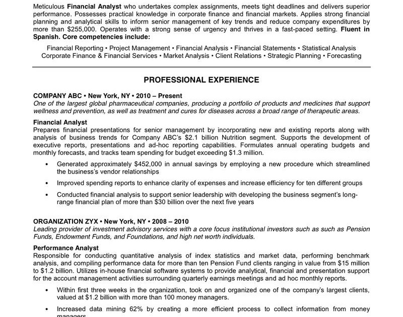 Resume Format: Resume Template Business Insider