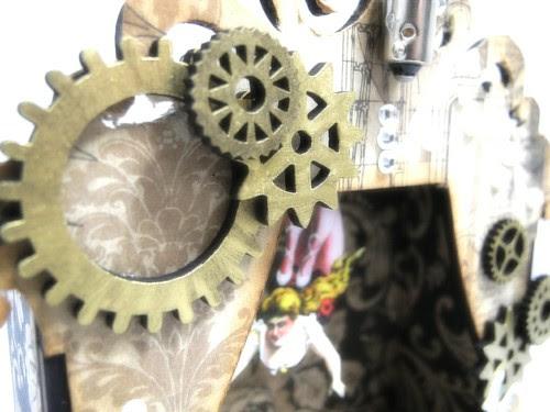 Steampunk Shrine Gear Detail