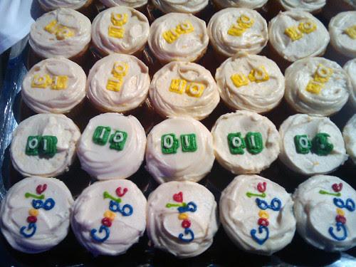 Google I/O cupcakes