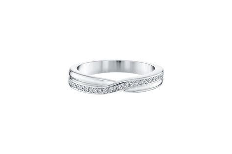 Tryst Micropavé Diamond Wedding Band   Harry Winston