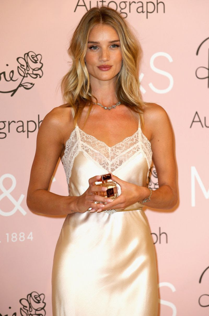 ROSIE HUNTINGTON-WHITELEY at Launch of Her New Fragrance in London
