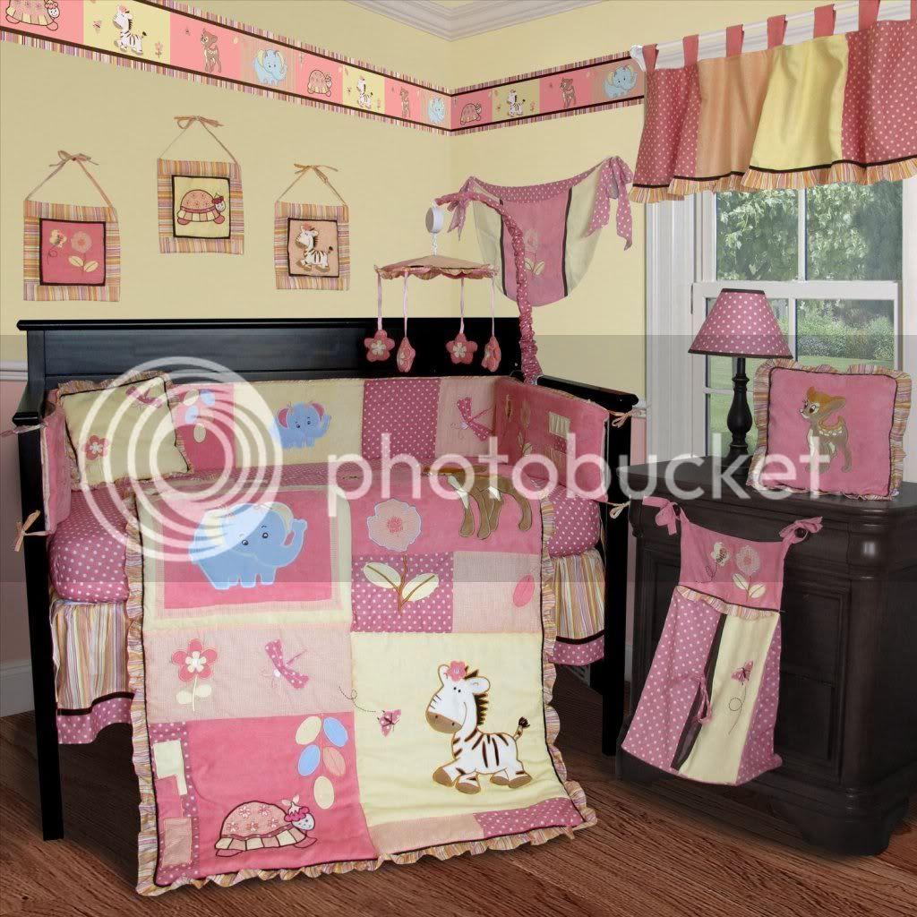 Baby Girl Crib Bedding Sets