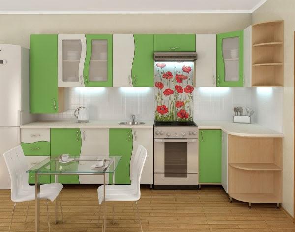 Угловая кухня8
