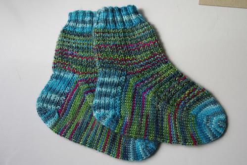 Indie Dyer Superwash ja Lorna's Laces Shepherd Sock