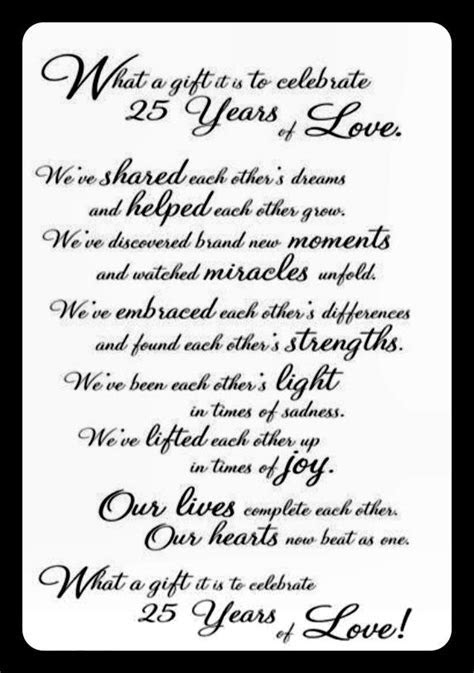 25 years of marriage   Love & Marriage   25th wedding