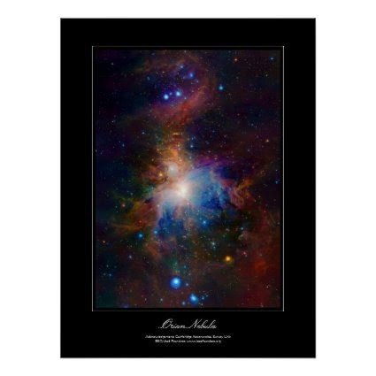 Orion Nebula gallery-style poster