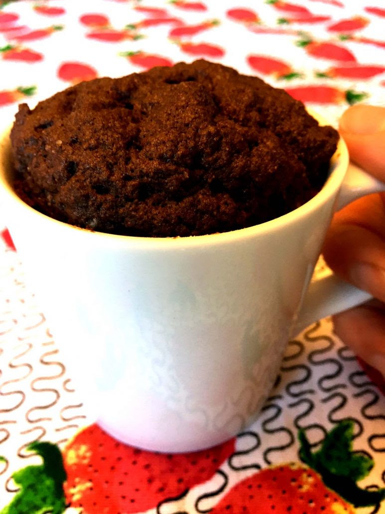 Coconut Flour Chocolate Mug Cake Recipe (Gluten-Free ...