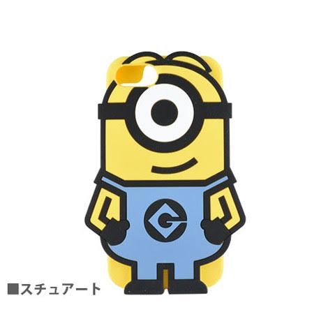 ミニオンズ怪盗グルーシリーズ Iphone7ダイカットシリコンケース