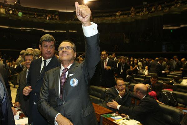 Henrique foi eleito para o biênio 2013-2014 no comando da Câmara dos Deputados
