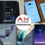 Phone Comparison: Samsung Galaxy S9 vs S9 Plus vs S8 vs S8 Plus vs Note 8