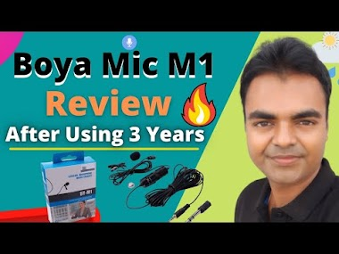 Boya BYM1 Mic Review After Using 3 Years as a YouTuber with 400,000 Subscribers
