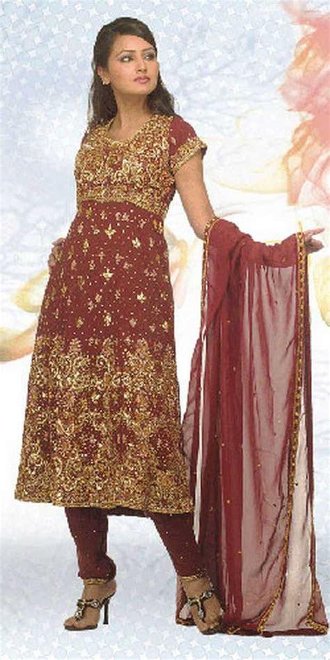 Indian Stylish Bridal Salwar Kamez Designs   Wedding