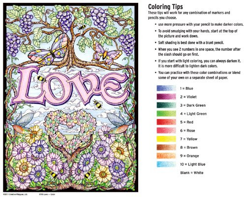 Color By Number Kits - Good Gifts For Senior Citizens