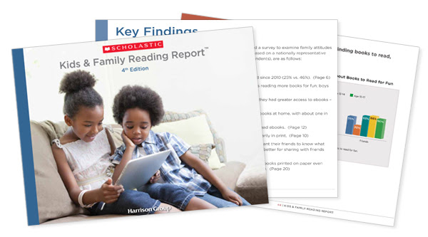 Kids & Family Reading Report Online Press Kit | Scholastic Media Room