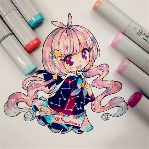 ibuchuan chibicoloring   anime art kawaii