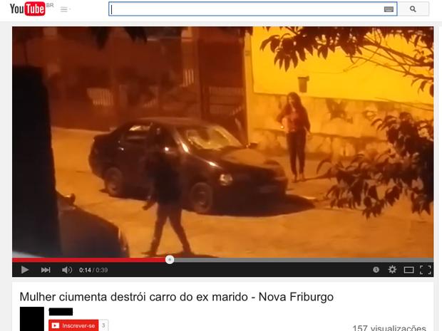 Vídeo gravado por vizinhos é encontrado nas redes sociais e YouTube  (Foto: Reprodução / YouTube)