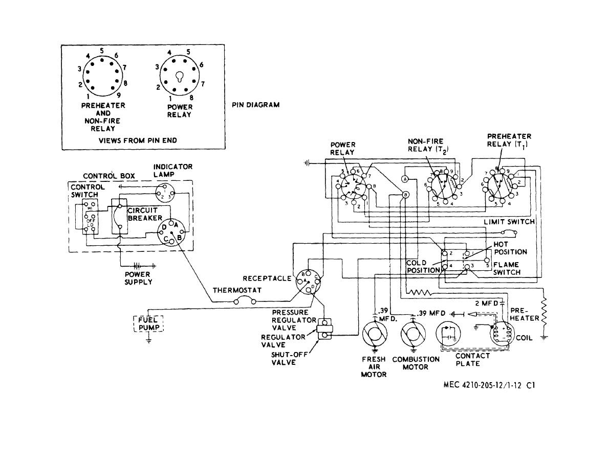 Wiring Diagram For Heater