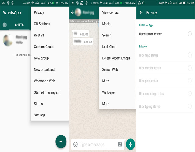 Image result for gb whatsapp new feature