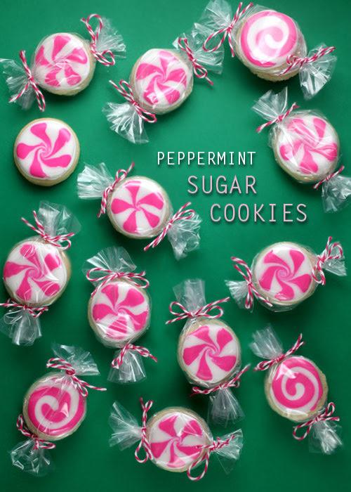 Peppermint Candy Sugar Cookies Bakerellacom