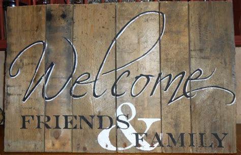 Welcome Sign, Rustic Pallet Wood,hand painted
