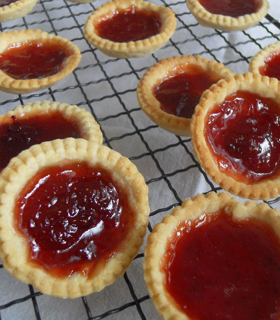 the english kitchen strawberry jam tarts