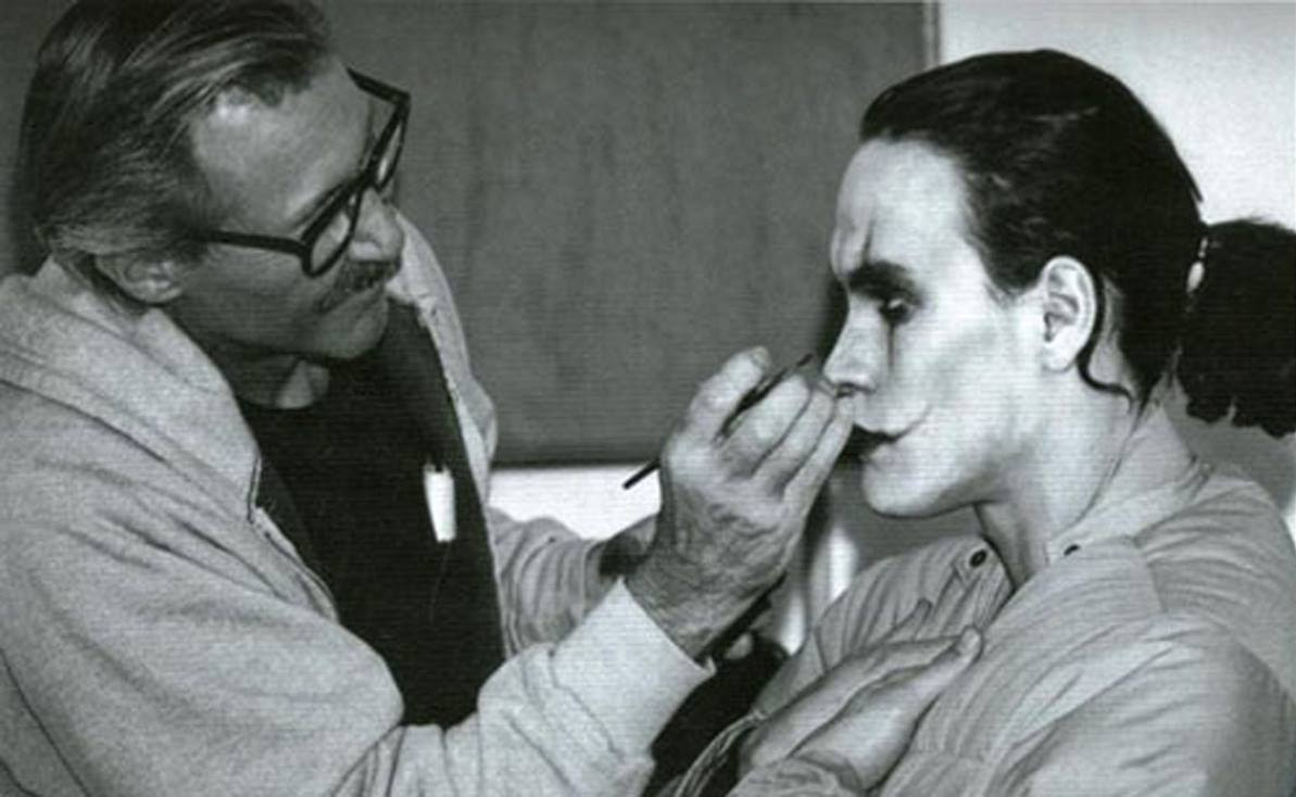 Brandon Lee In The Makeup Chair On The Set Of The Crow 1994