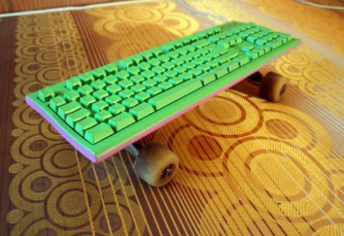 6 skate keyboard