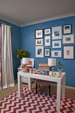 Home Office | Fall 2014 Color Trend Inspiration | Belinda Lee Designs