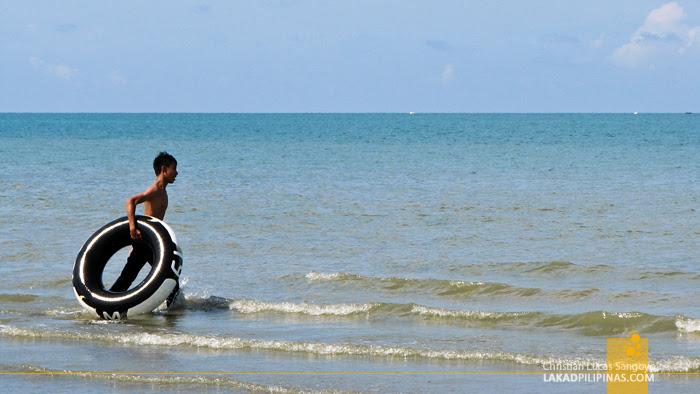 At Roxas City's Baybay Beach