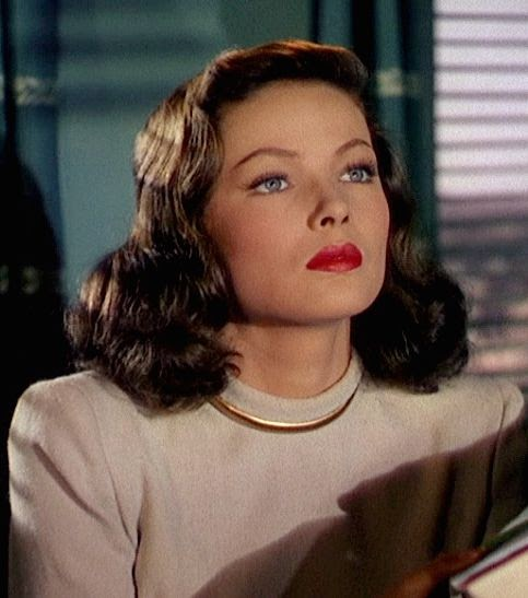 Gene Tierney in 'Leave her to Heaven'