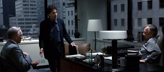 Christopher Plummer, Al Pacino y Philip Baker Hall en 'El informante'