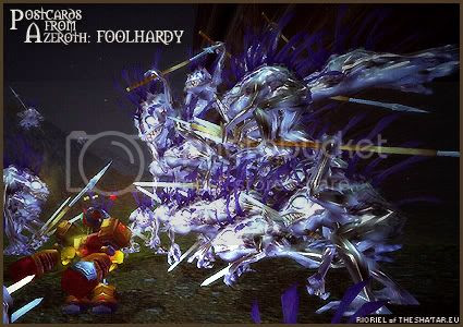 Postcards of Azeroth: Foolhardy, by Rioriel Ail'thera of theshatar.eu
